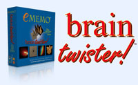 Brain Twister (eMemo) by Temple Games, Inc.