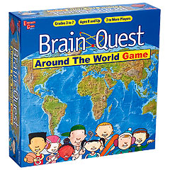 Brain Quest Around the World Game by University Games