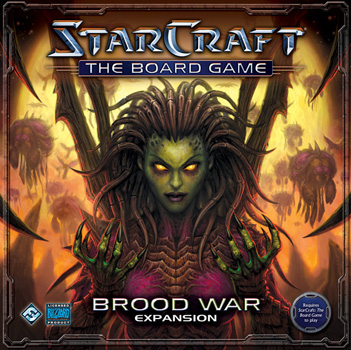 Starcraft Board Game: Brood War Expansion by Fantasy Flight Games