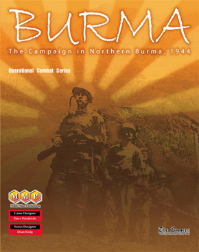 OCS Burma by Multi-Man Publishing