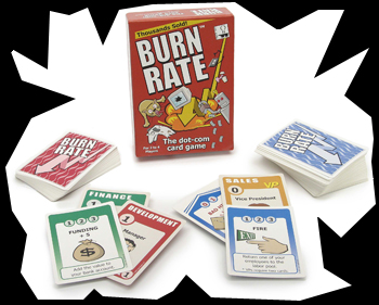 Burn Rate Card Game by Toy Vault, Inc.