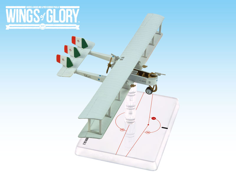 Wings Of Glory: Caproni Ca.3 (buttini) by Ares Games Srl