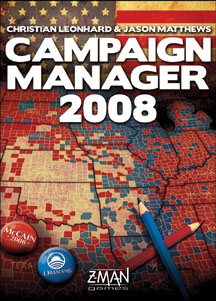 Campaign Manager 2008 by Z-Man Games, Inc.