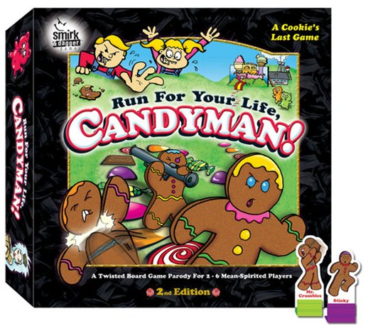 Run For Your Life, Candyman! (2nd Edition) by SMIRK & DAGGER