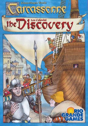 Carcassonne: The Discovery by Rio Grande Games
