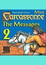 Carcassonne: The Messages Expansion by Rio Grande Games