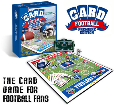 Card Football Premiere Edition by SportFX International