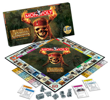 Pirates of the Caribbean Monopoly by USAOpoly