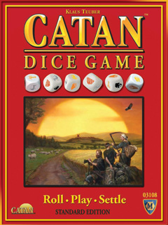 Catan Dice Game (Standard Edition) by Mayfair Games