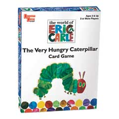 The Very Hungry Caterpillar Card Game by University Games