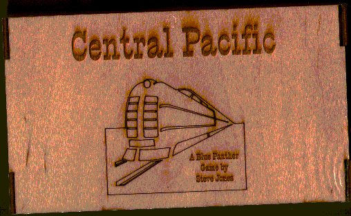 Central Pacific (2nd Edition) by Blue Panther
