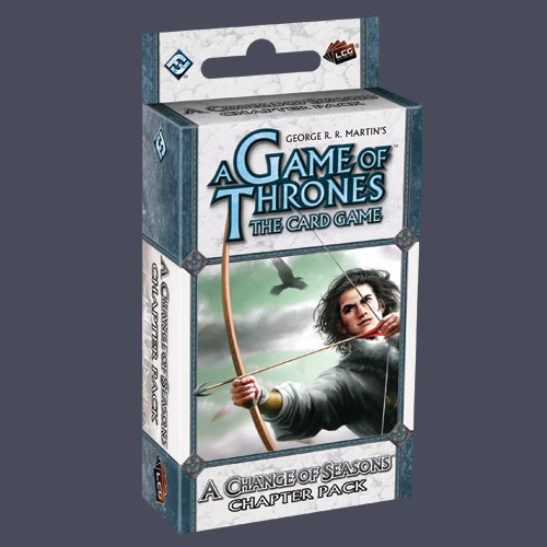 A Game of Thrones LCG: A Change in Seasons Chapter Pack by Fantasy Flight Games