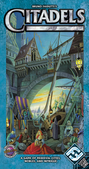 Citadels - (Includes The Dark City Expansion) by Fantasy Flight