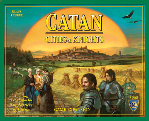 Settlers Of Catan Board Game : Cities  by