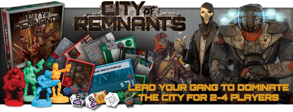 City Of Remnants by Plaid Hat Games