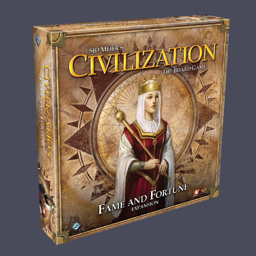 Civilization: The Board Game - Fame And Fortune Expansion by Fantasy Flight Games