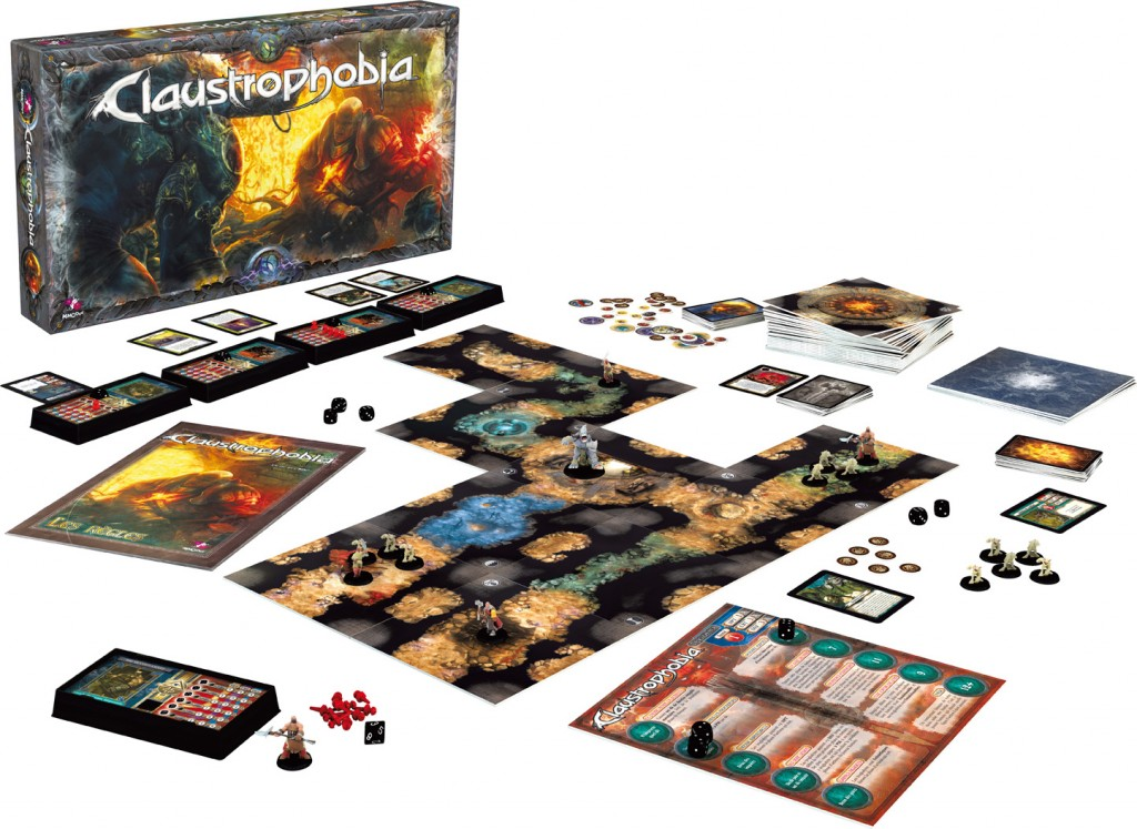 Claustrophobia by Asmodee Editions