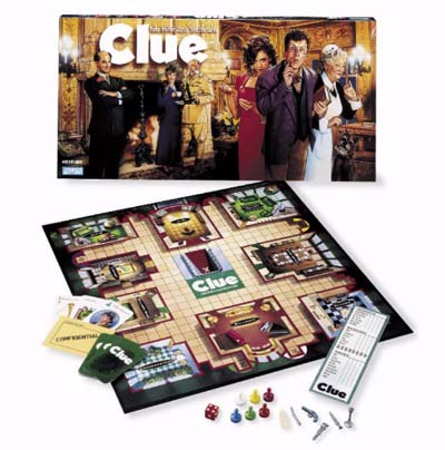 Clue by Hasbro
