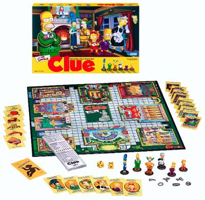 Clue (The Simpsons) by Hasbro