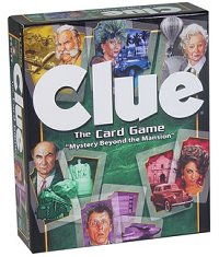 Clue:The Card Game by Winning Moves