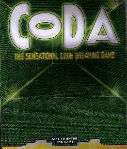 Coda (English version of Da Vinci Code) by Winning Moves
