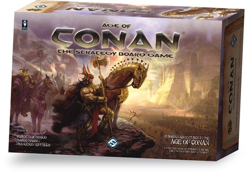 Age Of Conan Board Game by Fantasy Flight Games