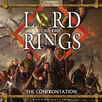 Lord of the Rings: The Confrontation Deluxe Edition by Fantasy Flight Games