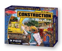Construction 24pc Floor Puzzle by Melissa and Doug