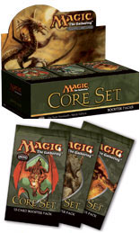 Magic the Gathering Core Set - Ninth Edition (The New Standard) booster pack by Wizards of the Coast