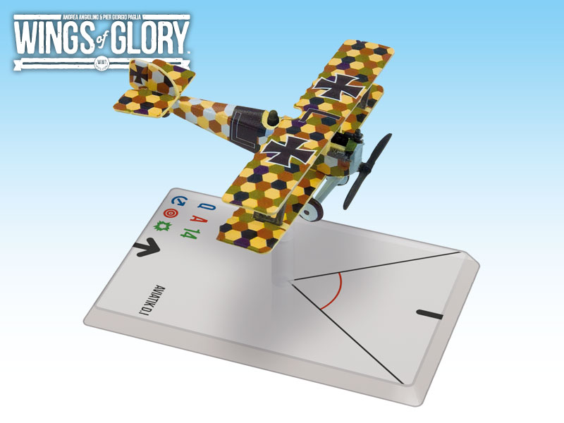 Wings of Glory WWI : Aviatik D.I (Linke-Crawford) by Ares Games Srl
