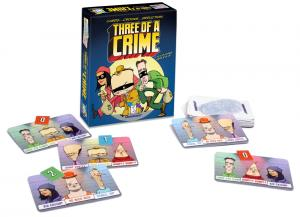 Three Of A Crime by Gamewright