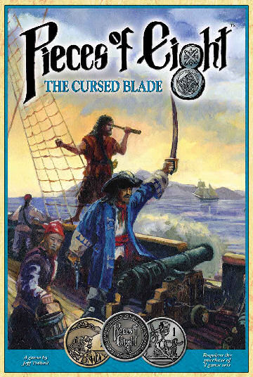 Pieces Of Eight: The Cursed Blade by Atlas Games