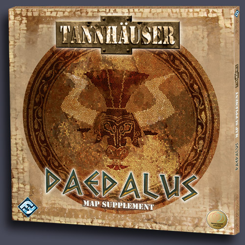 Tannhauser: Daedalus Map Expansion by Fantasy Flight Games