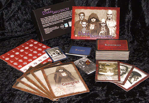 Vampire The Requiem: Dark Influences Card Game by White Wolf Publishing