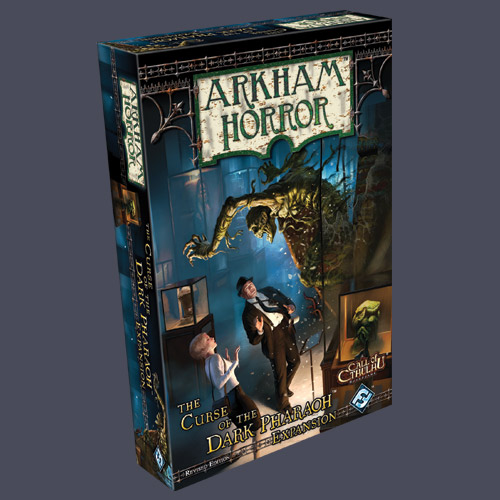Arkham Horror: Curse Of The Dark Pharaoh Expansion (Revised Edition) by Fantasy Flight Games