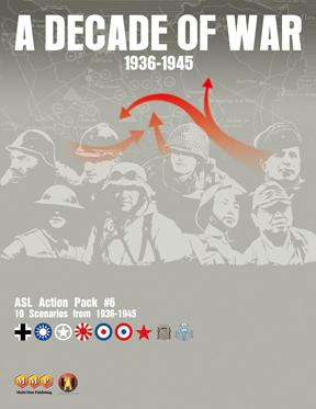 ASL Action Pack 6: Decade of War by Multi Man Publishing