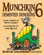 Munchkin 6 : Demented Dungeons by Steve Jackson Games