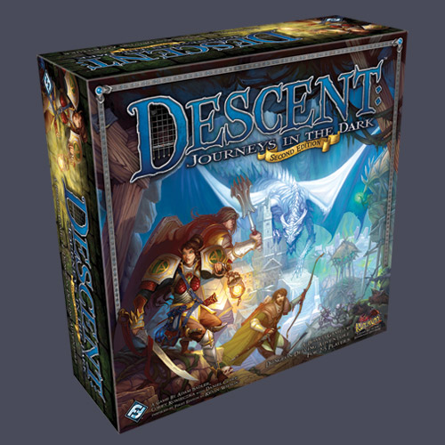 Descent: Journeys In The Dark Second Edition by Fantasy Flight Games