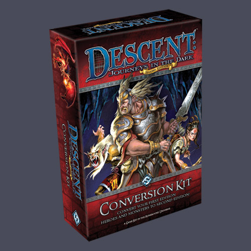 Descent: Journeys In The Dark Second Edition Conversion Kit by Fantasy Flight Games