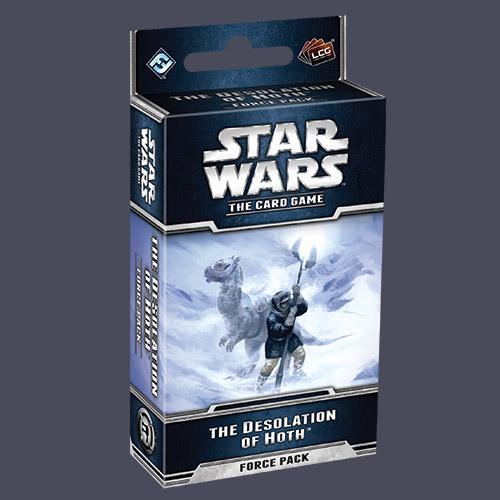 Star Wars LCG:Desolation Hoth Force Pack by Fantasy Flight Games
