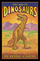 Age of Dinosaurs Playing Cards by US Games Systems, Inc