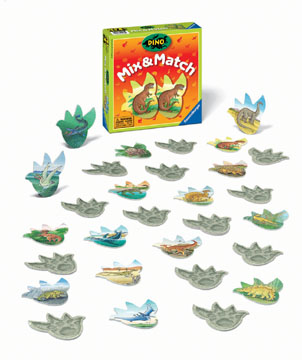 Dino Mix & Match by Ravensburger
