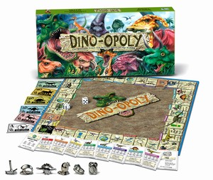 Dino-Opoly by Late For the Sky Production Co., Inc.
