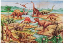 Dinosaurs 48pc Floor Puzzle by Melissa and Doug