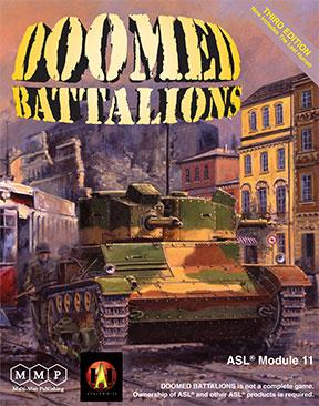 Doomed Batallions 3rd Edition by Multi-Man Publishing
