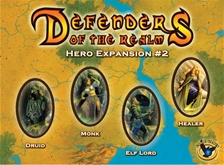 Defenders of the Realm: Hero Expansion 2 by Eagle Games