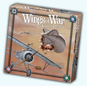 Wings of War: Burning Drachens by Fantasy Flight Games