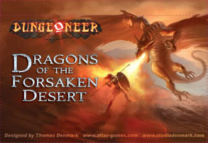 Dungeoneer: Dragons Of The Forsaken Desert by Atlas Games