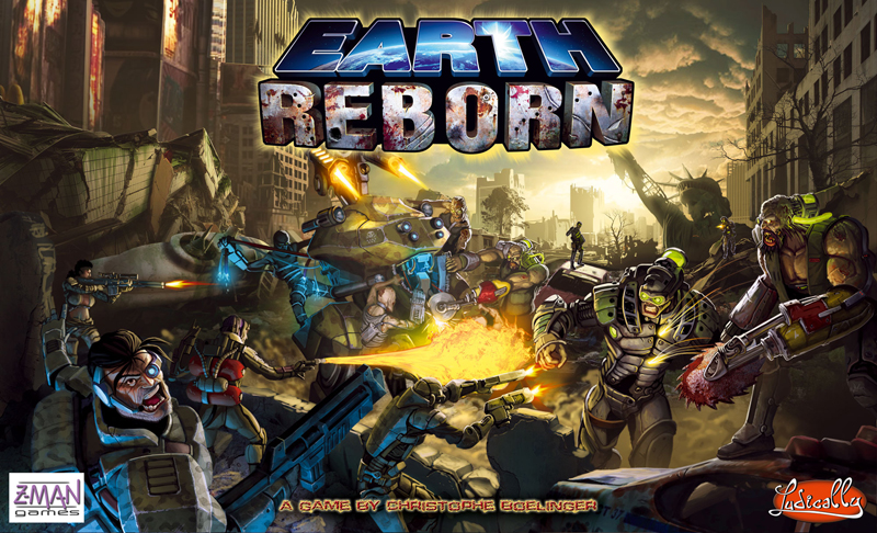 Earth Reborn by Z-Man Games, Inc