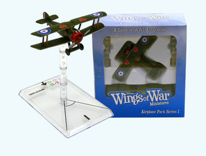 Wings Of War miniatures : Sopwith Camel Aubrey Beauclerk Ellwood (United Kingdom) by Fantasy Flight Games